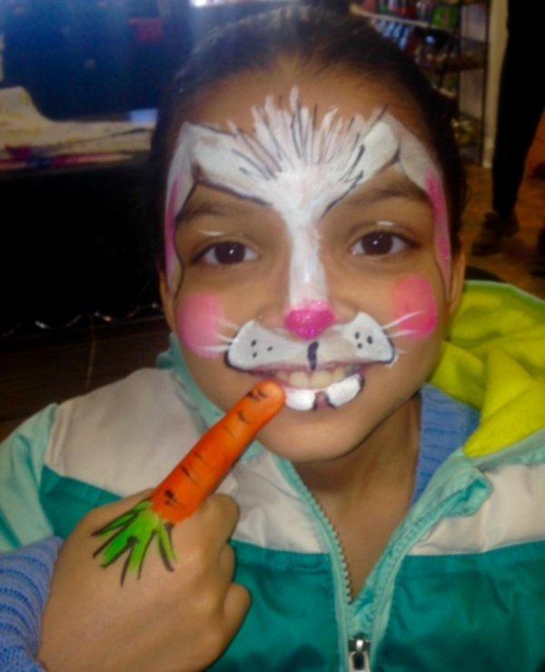 Rachel Hardy Upenn Wharton Lovely Face Painting Philadelphia