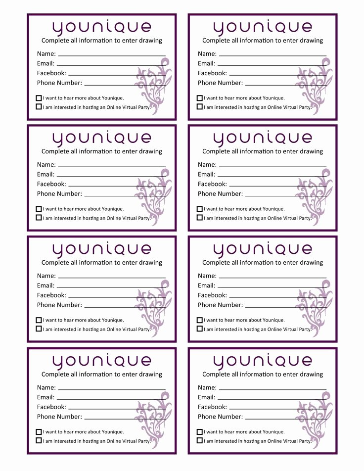 Raffle Entry form Template Fresh Door Prize Drawing Template at Getdrawings