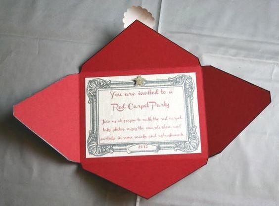 Red Carpet Invitation Template Free Elegant A Red Carpet Invitation Classy but Inexpensive as the