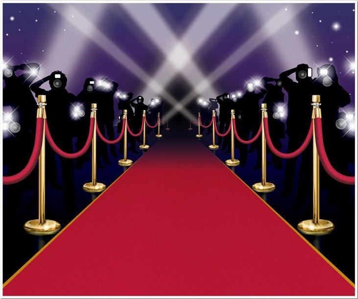 Red Carpet Invitation Template Free Fresh Decoration Murale Entree Des Artistes soirée à Deux Ou