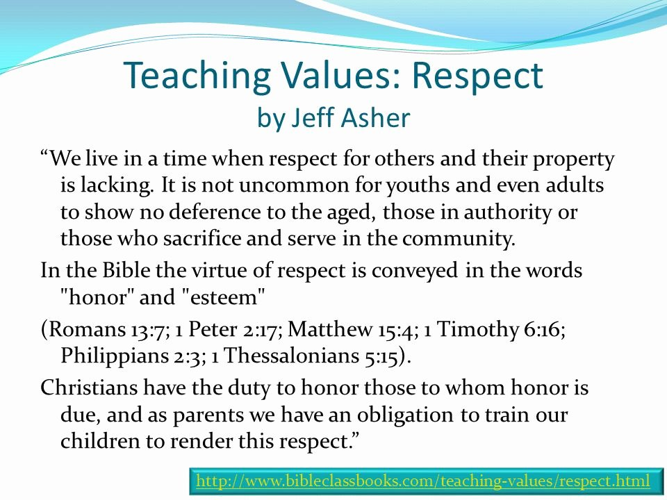 Respecting Others Property Essay Beautiful Respect for Authority Sunday March Ppt Video Online