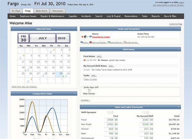 Restaurant Manager Log Book Template Awesome Mlog Virtual Manager Log Line Restaurant Management