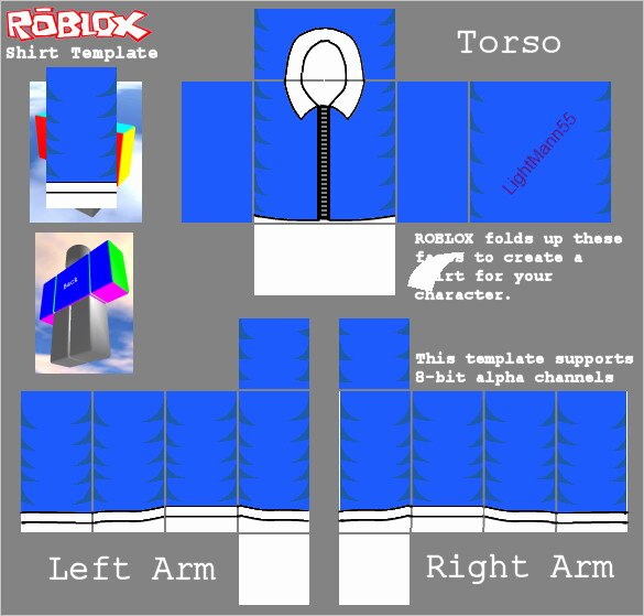 Roblox Jacket Template Elegant Shirt Templates