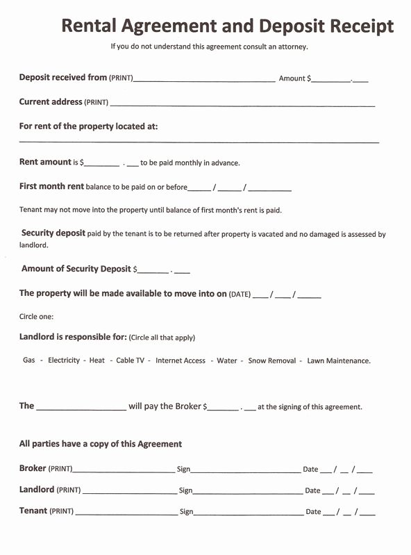 Room Rental Agreement California Free form Best Of Free Rental forms to Print