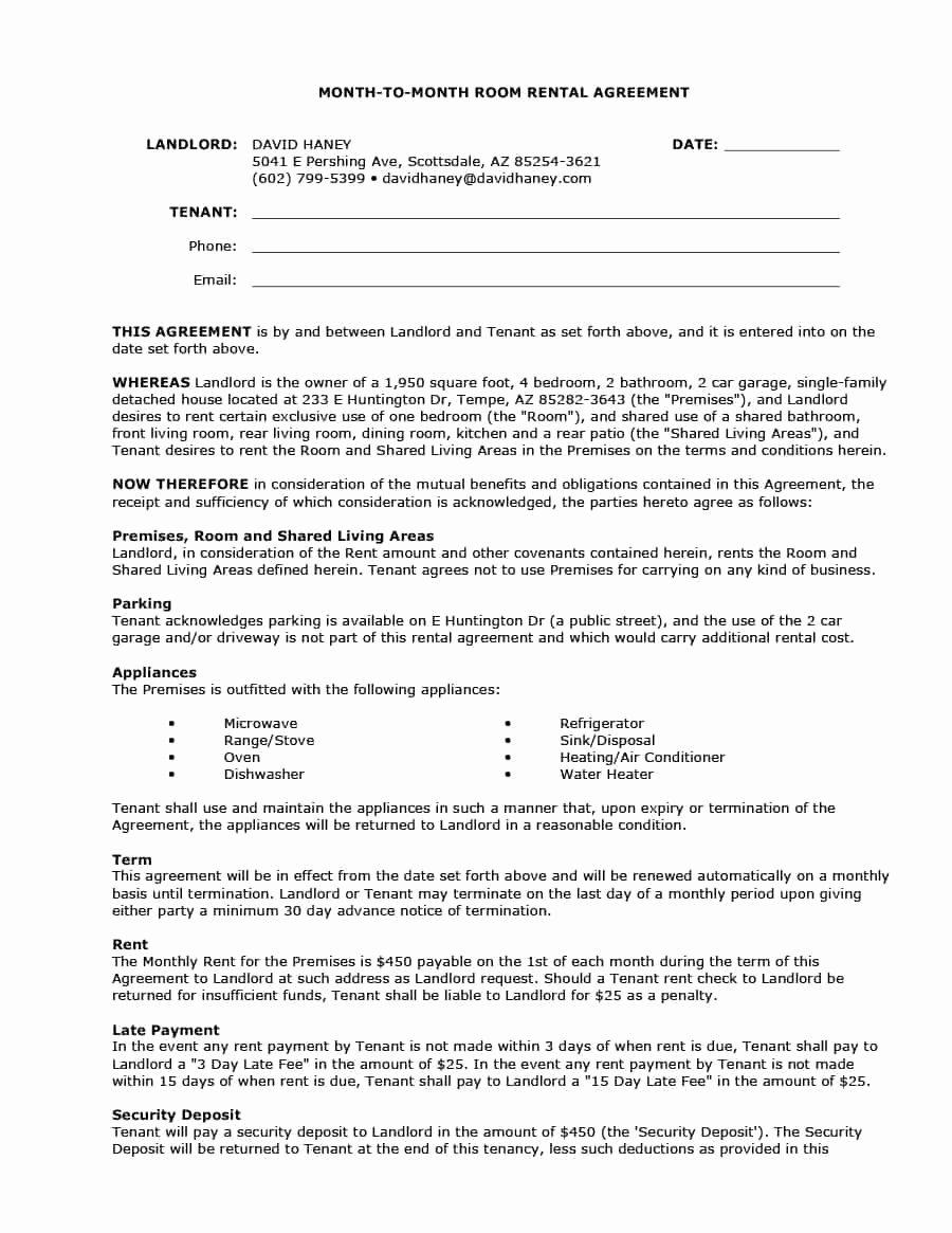 Room Rental Agreement California Free form Fresh 39 Simple Room Rental Agreement Templates Template Archive