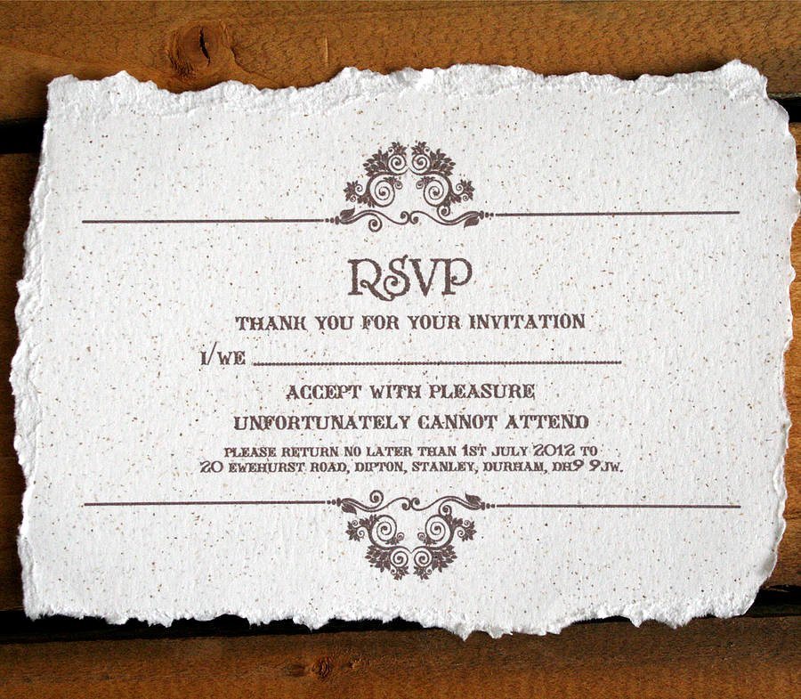 Rsvp Online Wording Beautiful Vintage Style Wedding Invitation by solographic Art