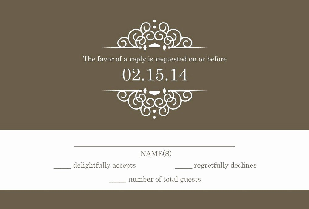 Rsvp Online Wording Beautiful Wedding Rsvp Wording formal and Casual Wording You Will