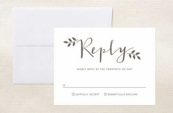Rsvp Online Wording Lovely Ways to Word Your Rsvp Card Rustic Wedding Chic