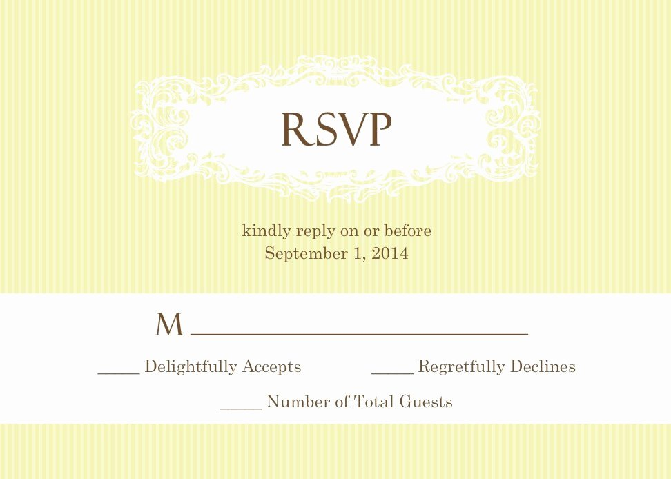 Rsvp Online Wording Lovely Wedding Rsvp Wording formal and Casual Wording You Will