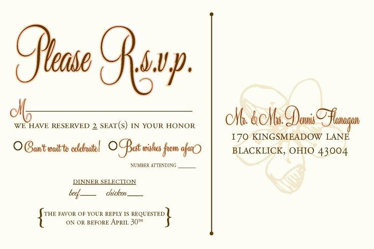 Rsvp Online Wording Luxury Rsvp Wedding Template Wording Wedding Design