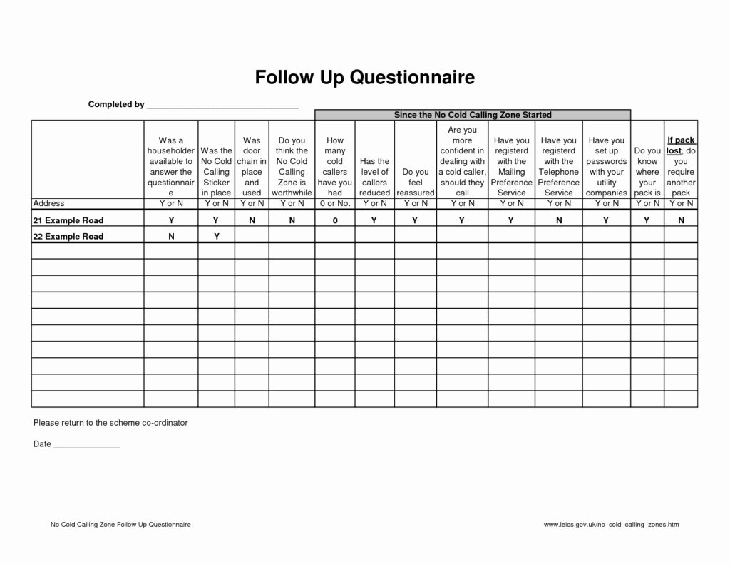 Sales Call Sheet Template Free Best Of Cold Call Sheet Template