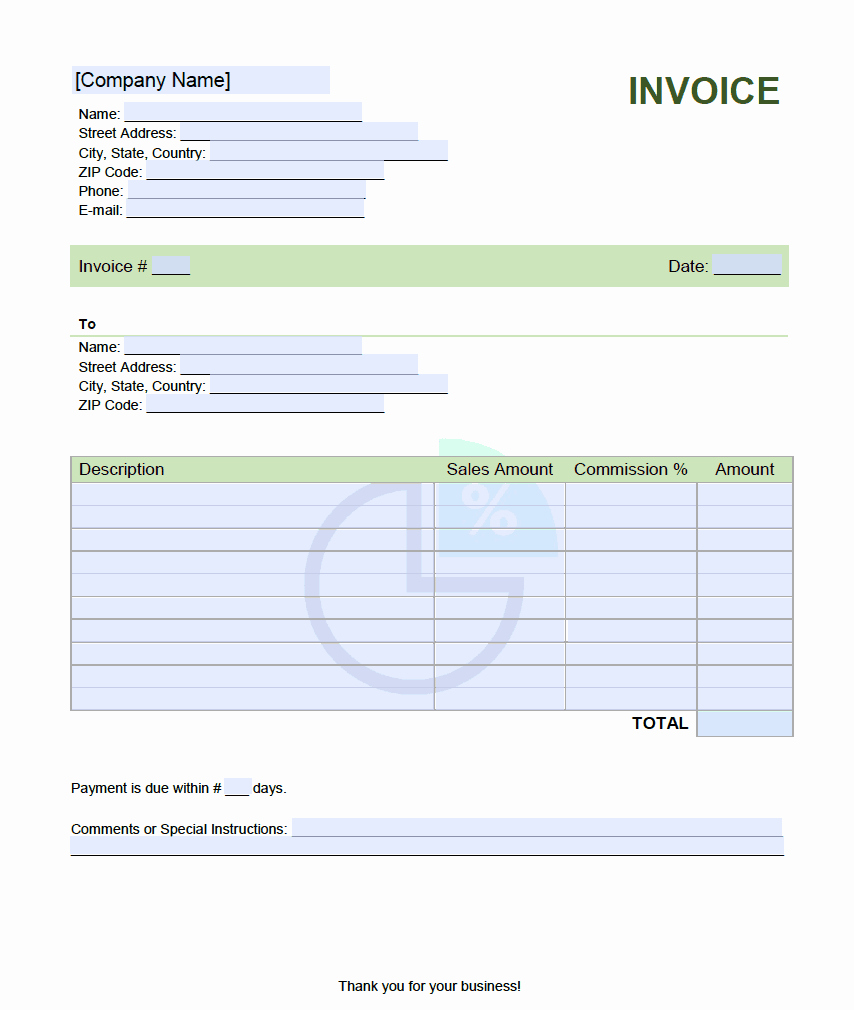 Sales Compensation Plan Template Excel Beautiful Sales Mission Invoice Template Lineinvoice