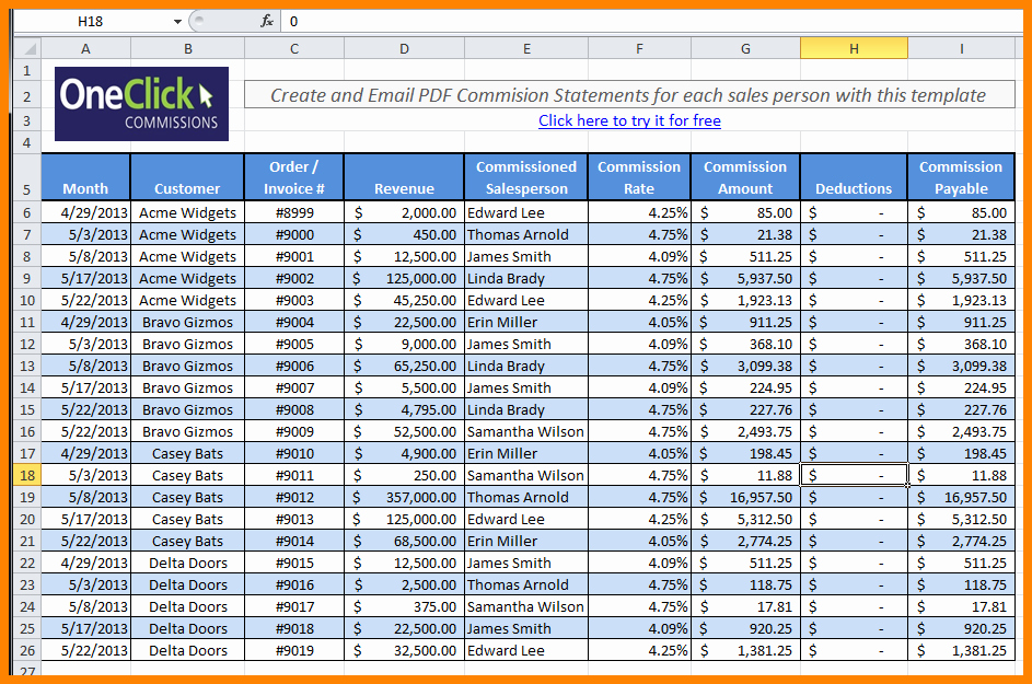 Sales Compensation Plan Template Excel Lovely 5 Free Payroll Excel Template