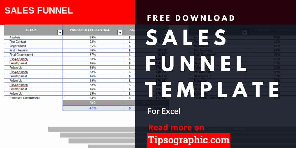 Sales Pipeline Template Excel Luxury Sales Funnel Template for Excel Free Download
