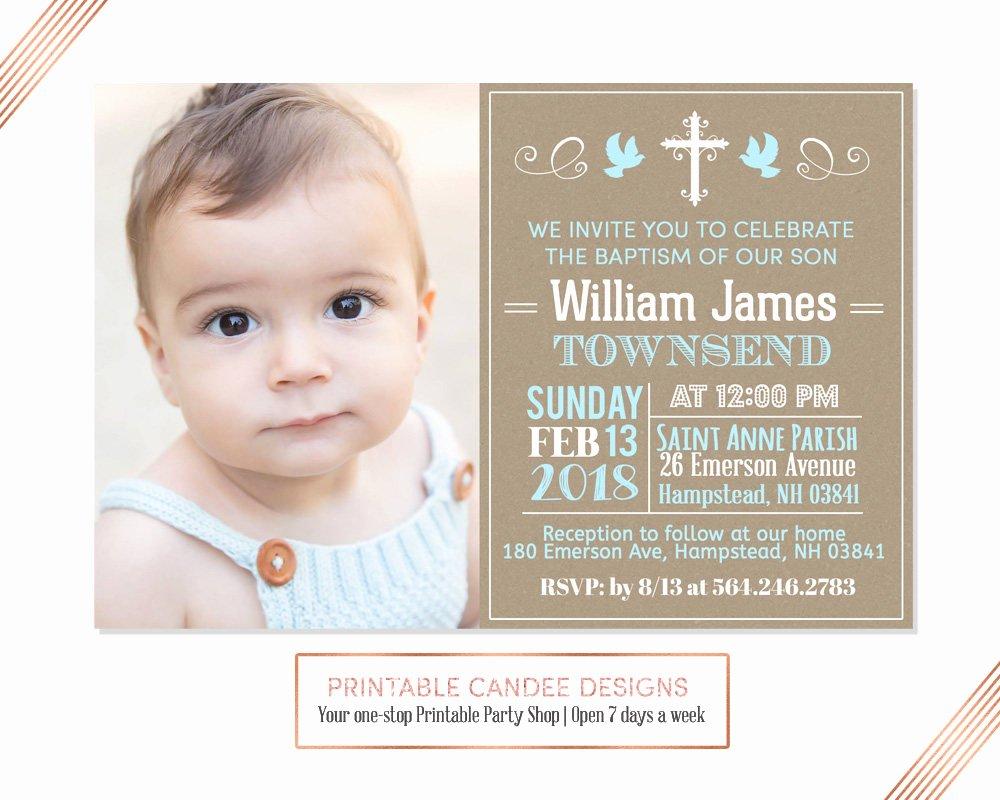 Sample Baptismal Invitations Awesome Blue Burlap Baptism Invitation Baby Boy Baptism Invitation