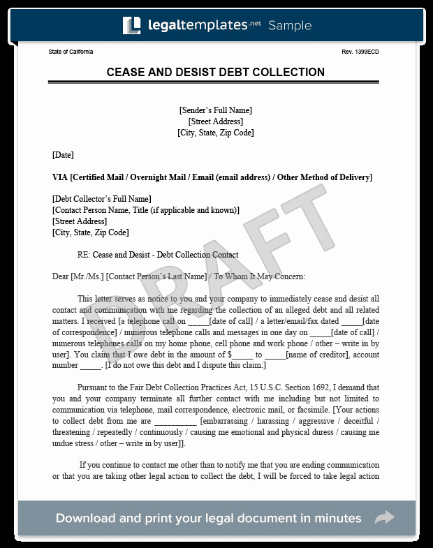 Sample Cease and Desist Letter to former Employee Best Of Cease and Desist Letter C&d