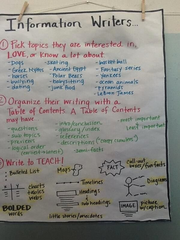 Sample Informational Essay 5th Grade Luxury Best 25 Informative Writing Ideas On Pinterest