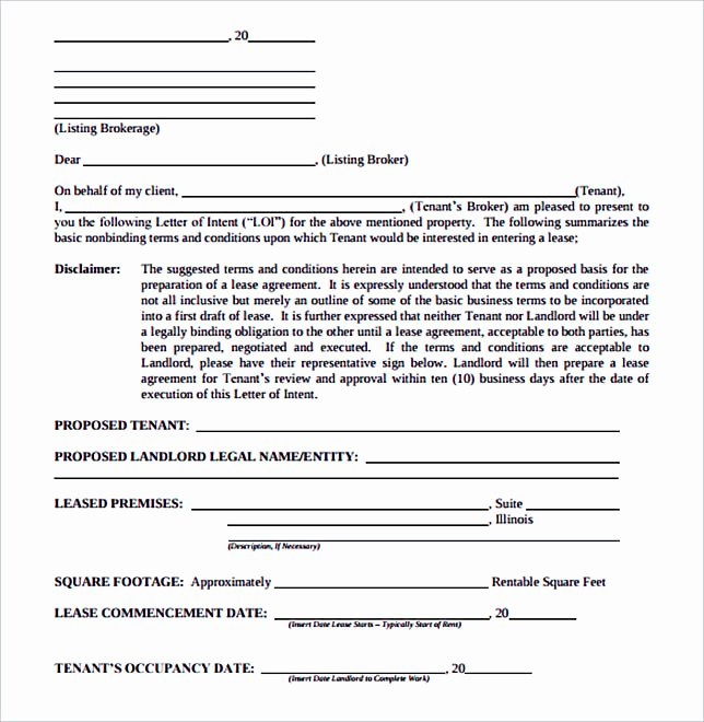 Sample Letter Of Intent to Lease Lovely Make the Letter Of Interest Worth Reading