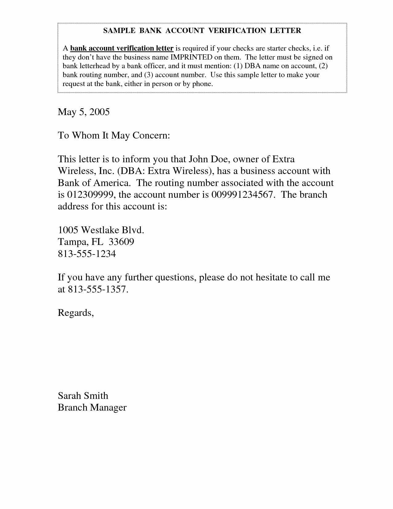 Sample Letter to Close Bank Account Best Of Best S Of Bank Account Verification Letter Bank