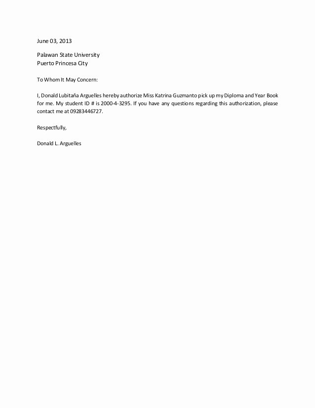 Sample Letter to Close Bank Account Lovely Authorization Letter