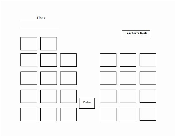 seating chart template 10 free word excel pdf format intended for seating chart template