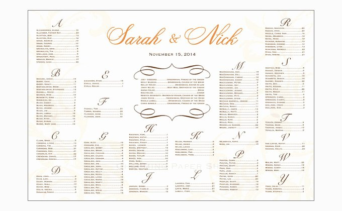 Seating Chart Template Word Fresh Seating Chart Template
