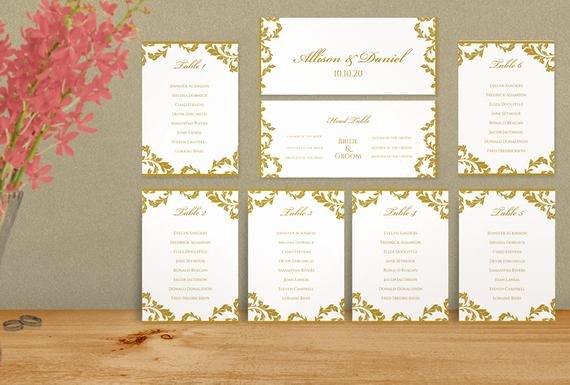 Seating Chart Template Word Fresh Wedding Seating Chart Template Download by Karmakweddings