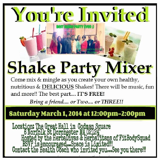 Shake Party Herbalife New E Join Us for A Mardi Gras themed Shake Party Bring