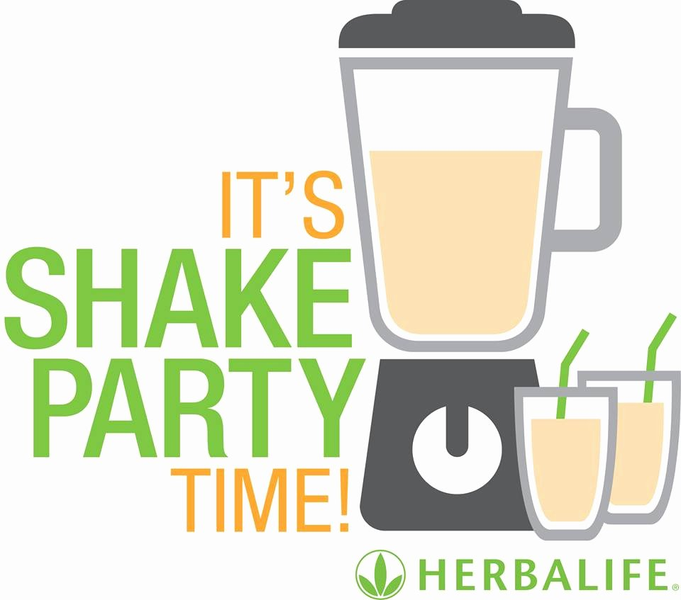 Shake Party Herbalife Unique Shake Party