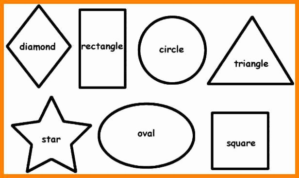 Shape Templates to Cut Out Awesome Shape Templates thetruther