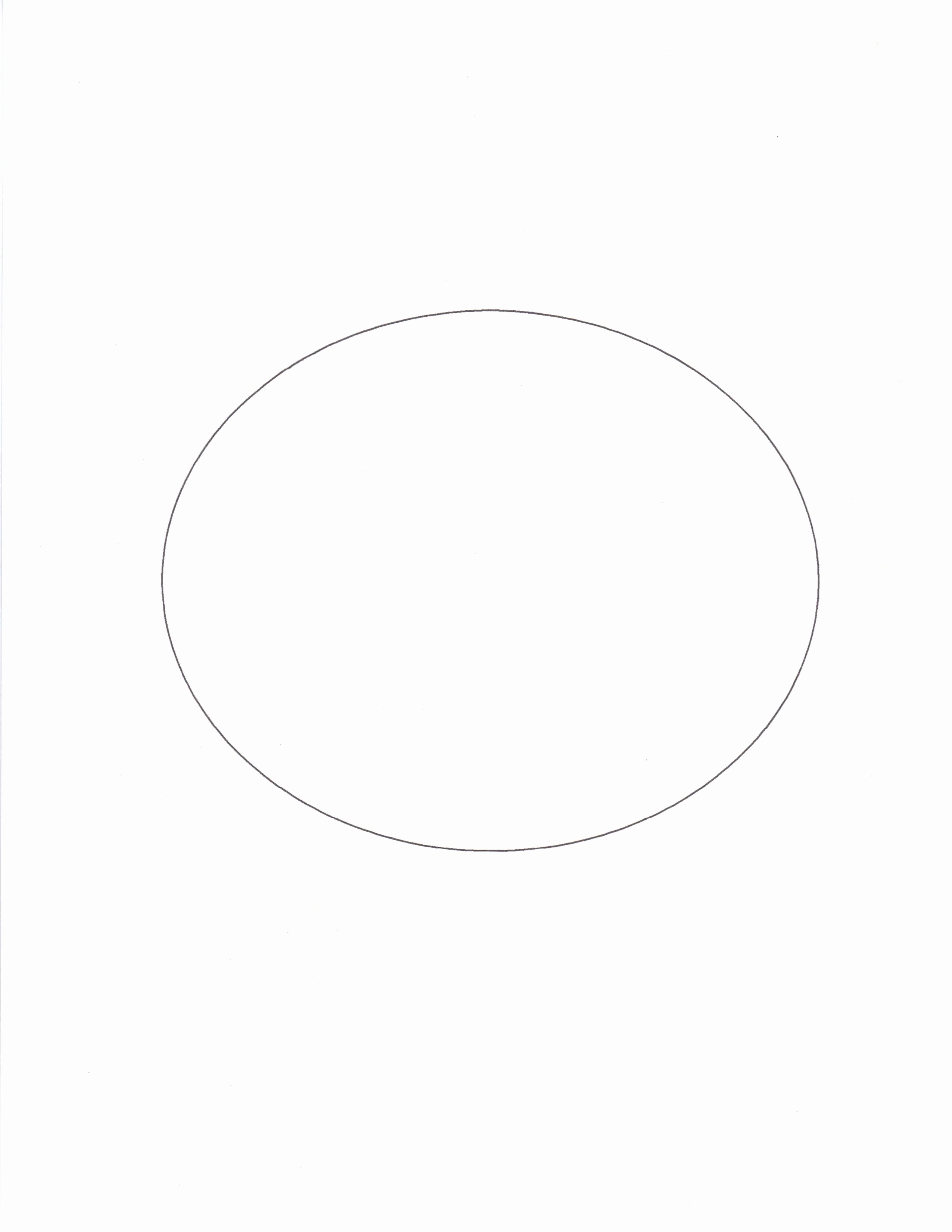 Shape Templates to Cut Out Best Of Best S Of 4x8 Oval Shape Print Out Oval Shape