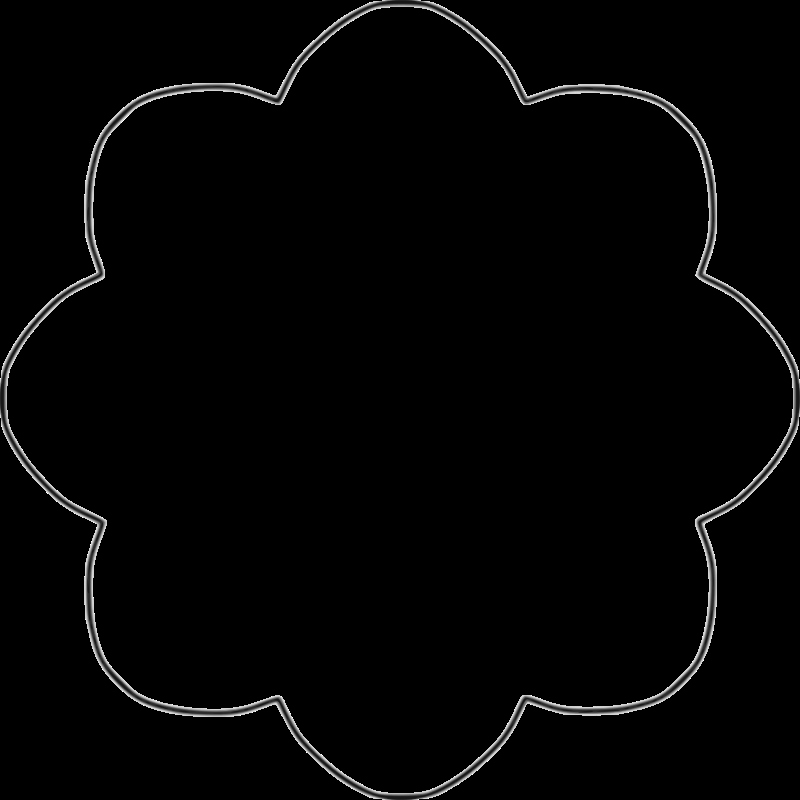 Shape Templates to Cut Out Inspirational Clipart Flower Template Clipartfest Crafts