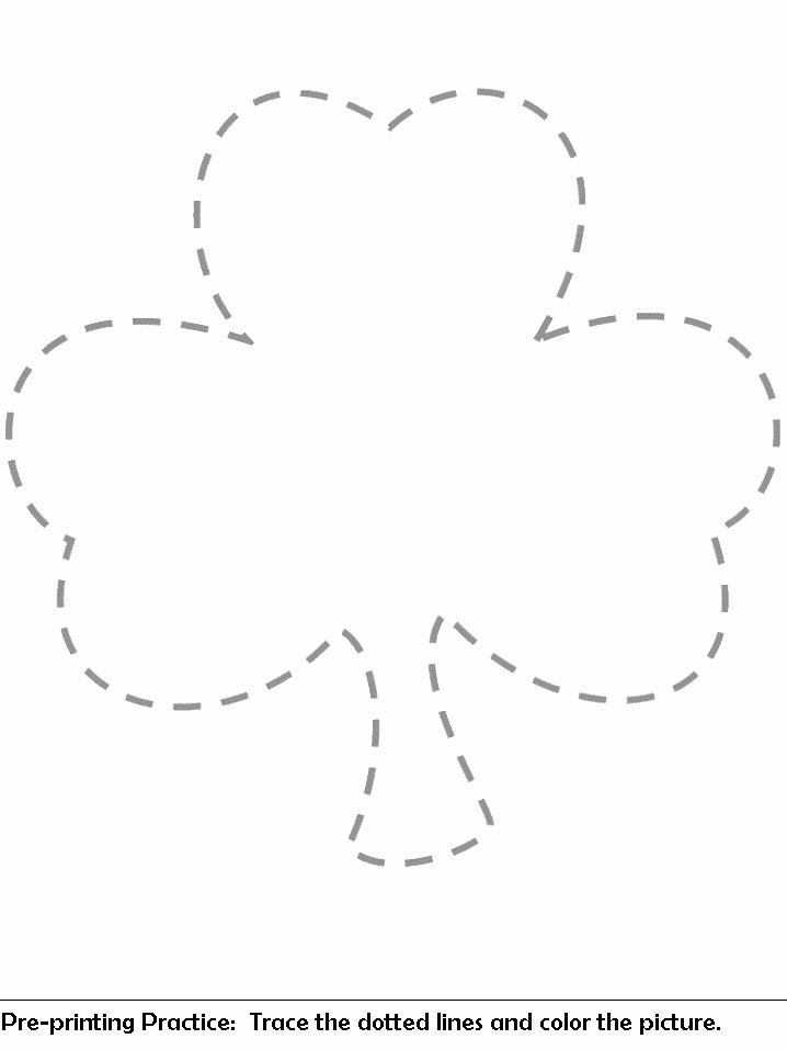 Shape Templates to Cut Out Inspirational Cut Out Shamrock Shapes From Pink Green Foam to Decorate