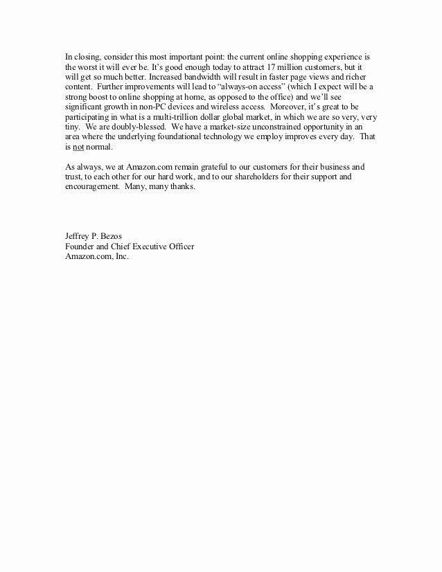 shareholder letters 1997 2011