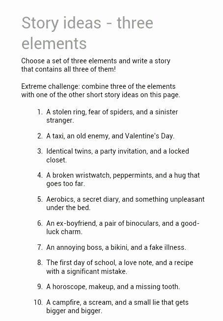 Short Story Essay Ideas Inspirational 25 Best Ideas About Short Story Prompts On Pinterest