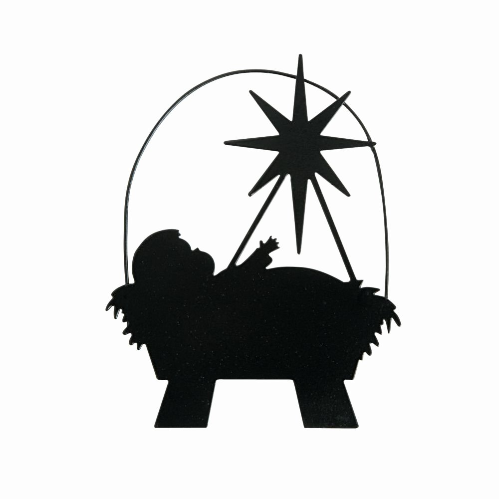 Silhouette Nativity Scene Pattern Fresh Silhouette Manger ornaments Products