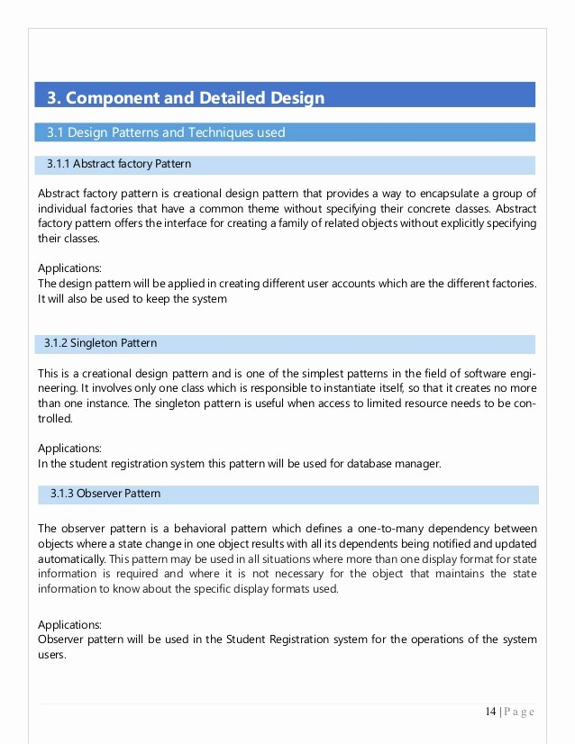 Software Documentation Sample Lovely Example for Sds Document In software Engineering