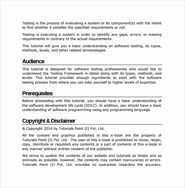 Software User Guide Template Best Of 27 Of software User Manual Template
