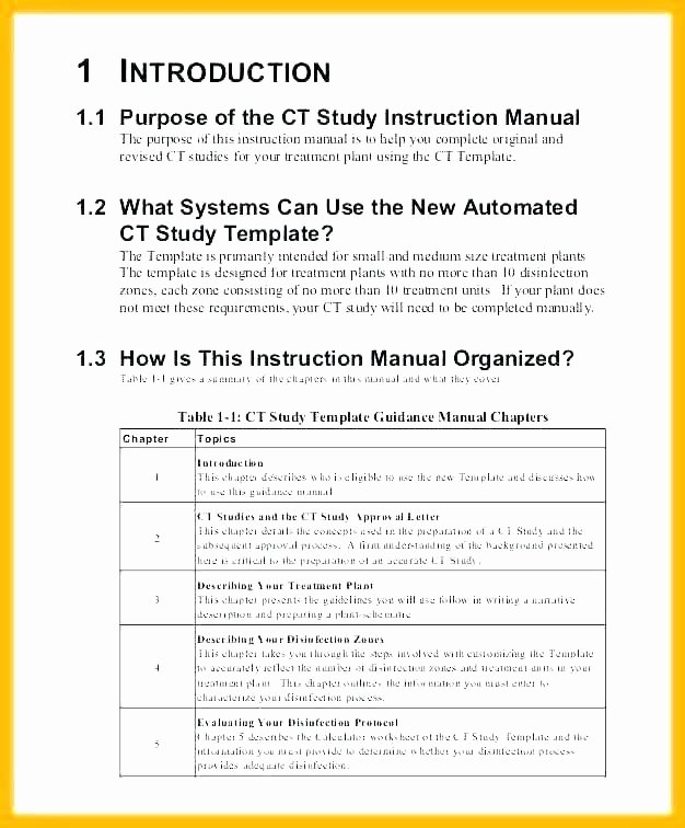 Software User Guide Template Unique 10 Best Table Contents Templates for Microsoft Word