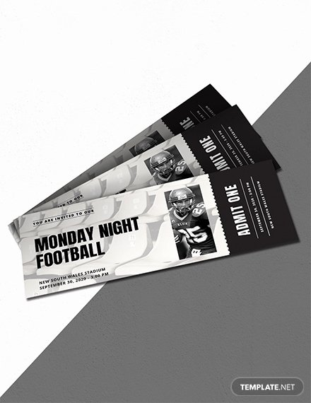Sports Ticket Invitation Template Free Elegant 16 Free Admission Ticket Templates