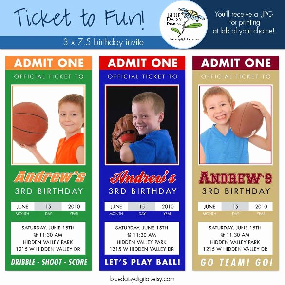 Sports Ticket Invitation Template Free Unique 47 Ticket Invitation Templates Psd Ai Word Pages