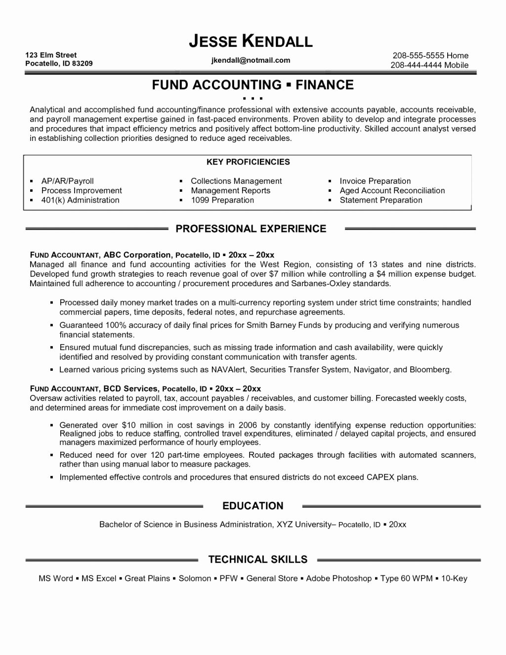 Staff Accounting Resume Samples Luxury Staff Accountant Salary Tag Fantastic Staff Accountant