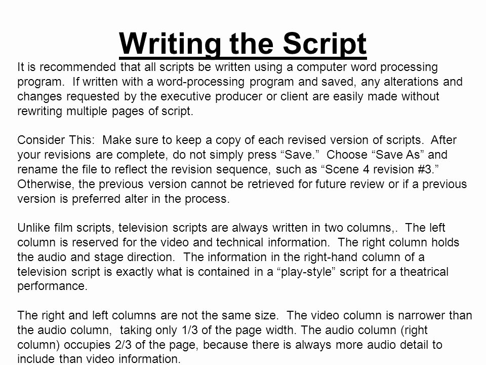 Stage Play format Example Luxury Broadcast Scripts Acct Bvp1 5 Students Will Identify and