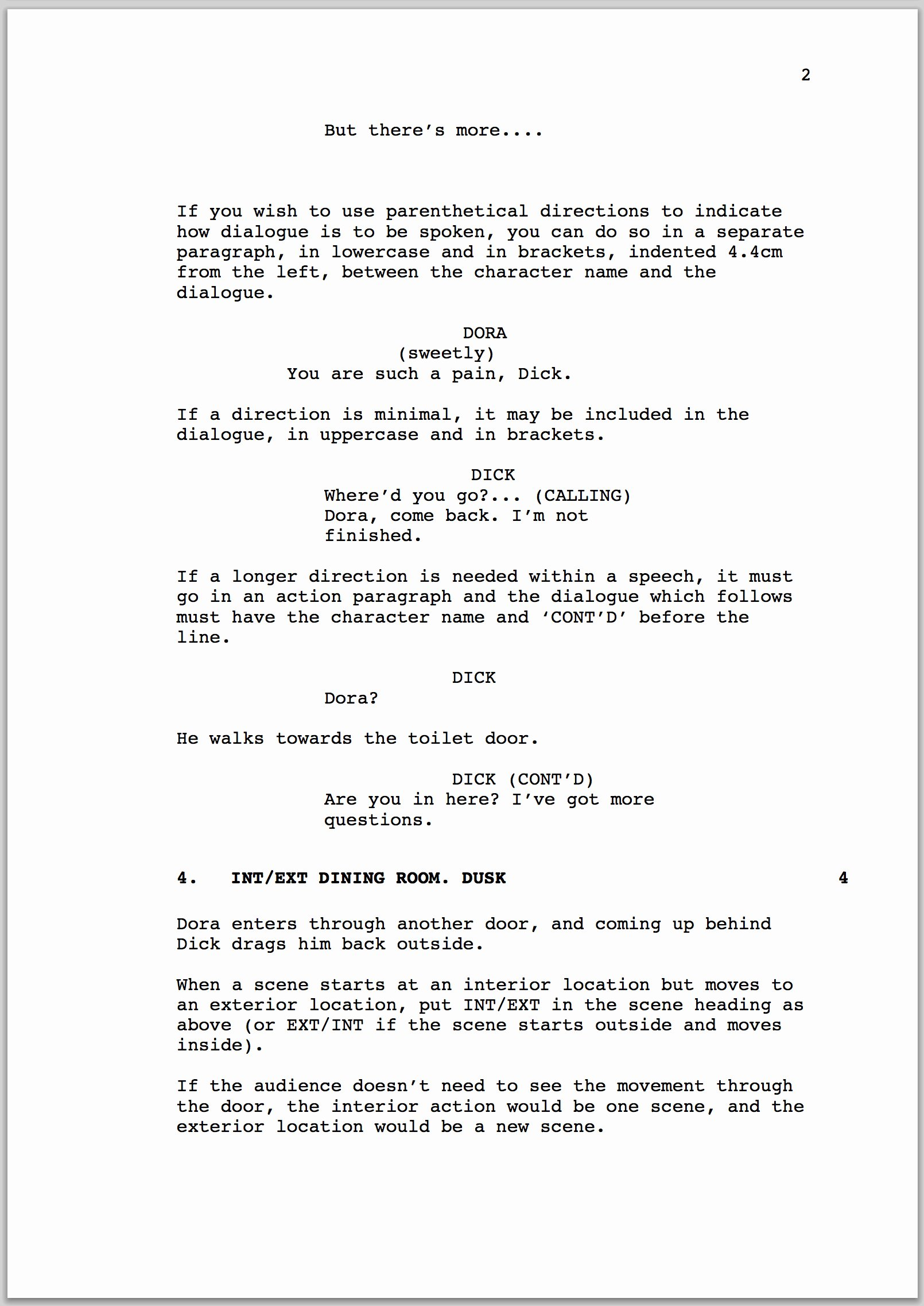 Stage Play format Template Luxury How to format A Screenplay