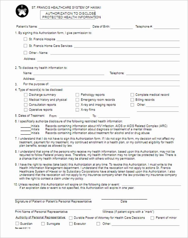 Standard Media Release form Template Luxury 41 Release form Templates Free Sample Word format