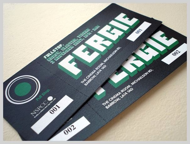 Staples Ticket Template Awesome 20 Custom event Ticket Design Inspiration Examples