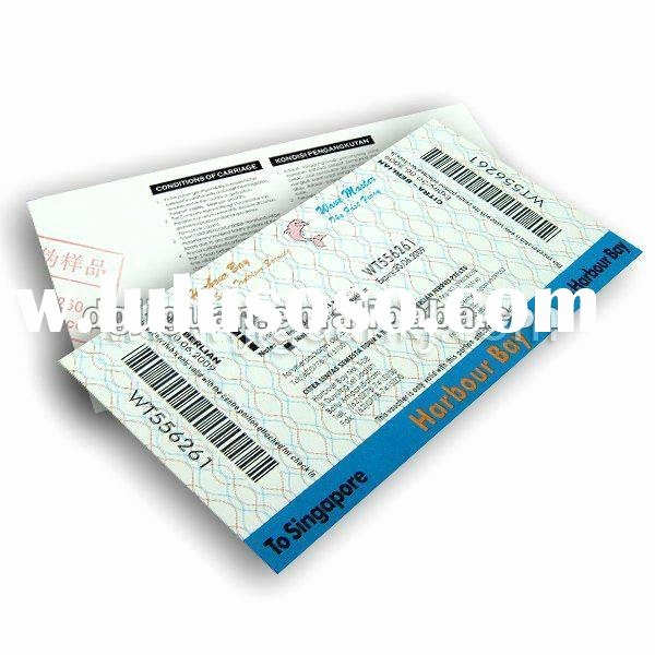 Staples Ticket Template Fresh Printing Raffle Ticket Security Printing for Sale Price