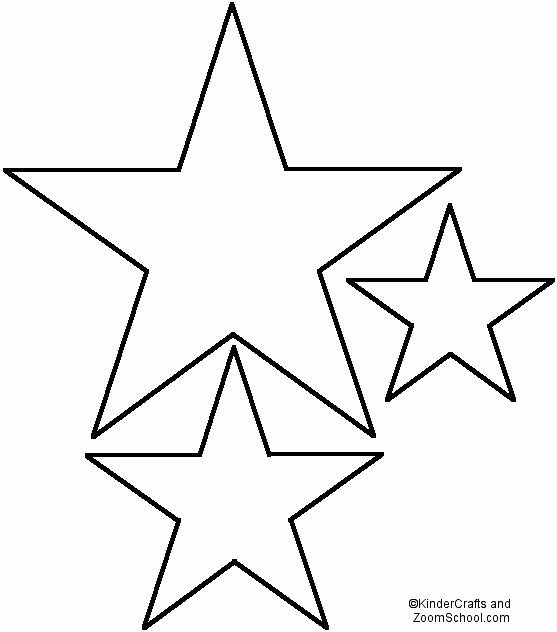 Star Stencil Printable Awesome Best 25 Star Template Ideas On Pinterest