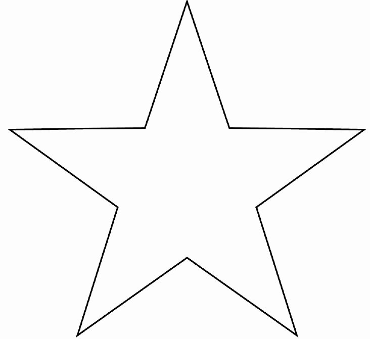Star Stencil Printable Awesome Star Template Printable Cliparts