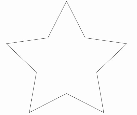 Star Stencil Printable Elegant Star Template Pillowcase Tutorial and Pillowcases On